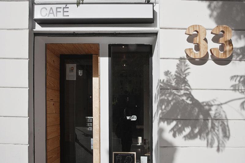 reforma cafeteria Trentatres ruzafa, reforma local valencia