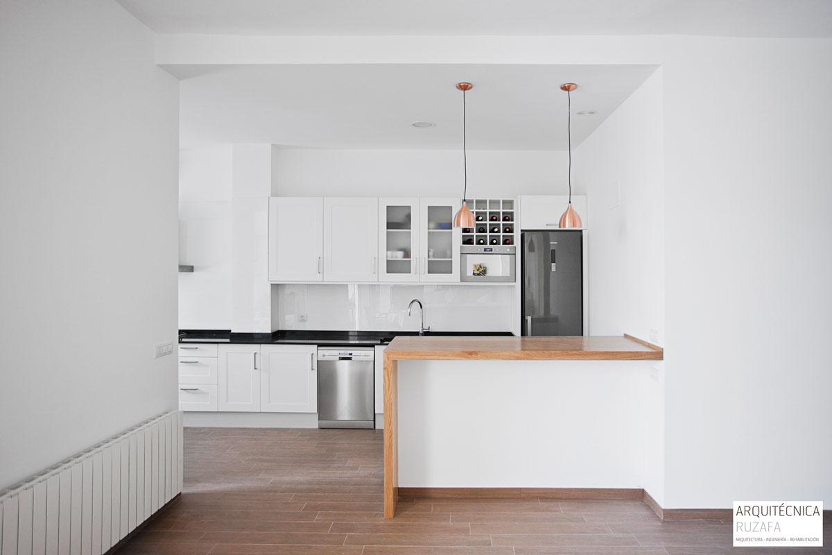 Proyecto reforma vivienda Ruzafa