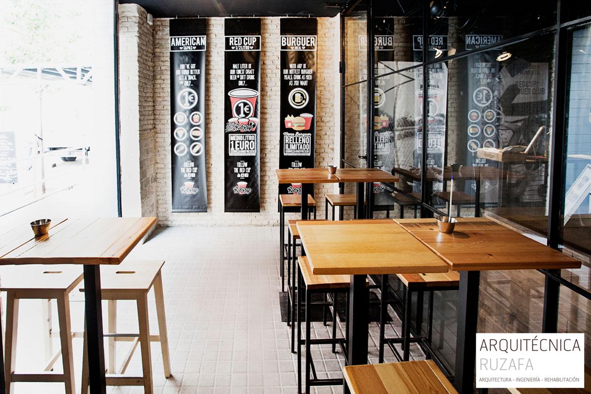proyecto reforma y licencia ambiental restaurante valencia